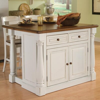 Giulia 3 Piece Kitchen Island Set