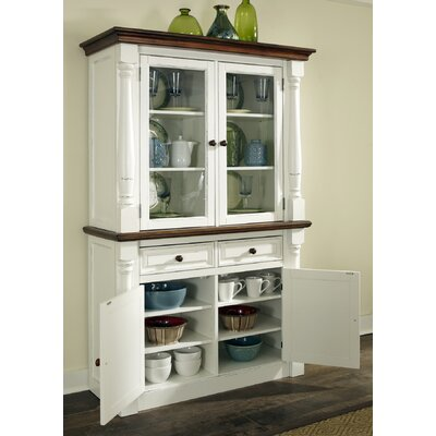 Shyanne China Cabinet Finish: White