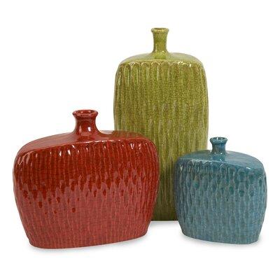 3 Piece Herrera Vase Set