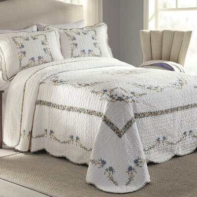 Etha Bedspread Size: King