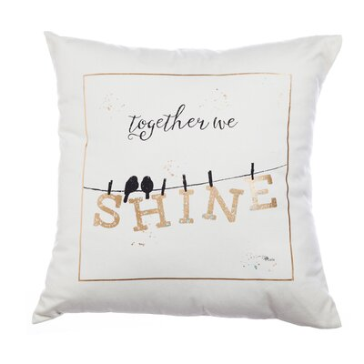 Together we Shine Throw Pillow