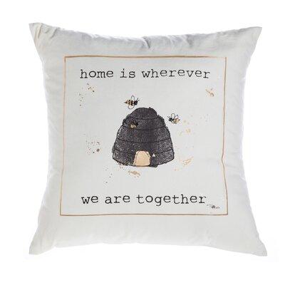Lil Memos Cotton Throw Pillow