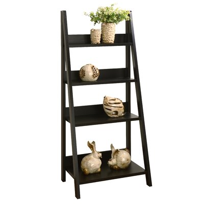 Caitie 61 Leaning Bookcase
