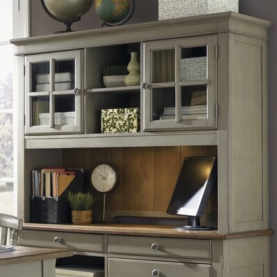 Ethyl Desk Hutch Finish: Taupe