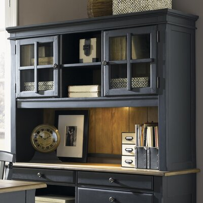 Mason Desk Hutch Finish: Black