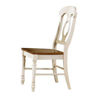 Perna Dining Chair (Set of 2) Finish: Linen Sand