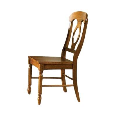 Perna Dining Chair (Set of 2) Finish: Suntan Bronze