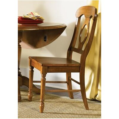 Perna Dining Chair (Set of 2) Color: Suntan Bronze