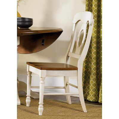 Perna Dining Chair (Set of 2) Color: Linen Sand