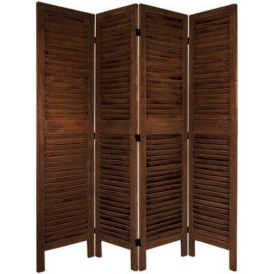 Jeanpierre 67 x 66 Classic Venetian 4 Panel Room Divider
