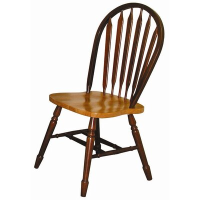Dining Chair Color: Nutmeg / Rich Honey Light Oak