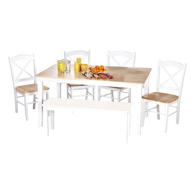 Wisteria 6 Piece Dining Set