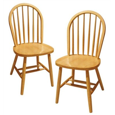Windsor Solid Wood Dining Chair Finish: Natural