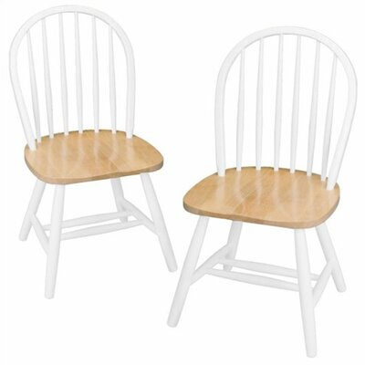 Windsor Side Chair Finish: White