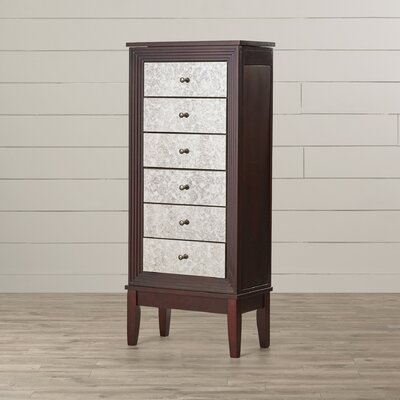 Curtis Jewelry Armoire with Mirror