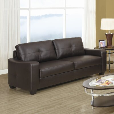 Rahr Leather Sofa