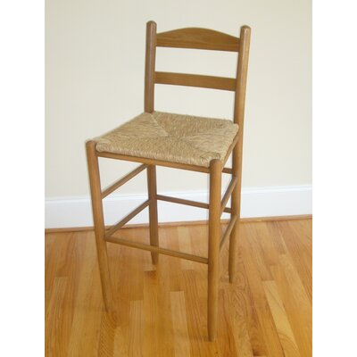 Blue Ridge 30 Bar Stool Color: Medium Oak