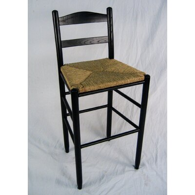 Blue Ridge 30 Bar Stool Finish: Black
