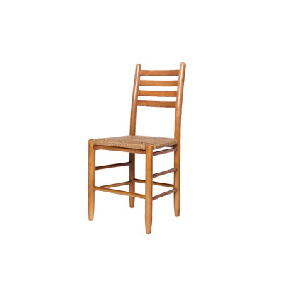 Blue Ridge Ladderback Solid Wood Dining Chair Color: Medium Oak