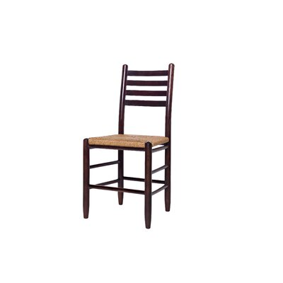 Blue Ridge Ladderback Solid Wood Dining Chair Finish: Walnut