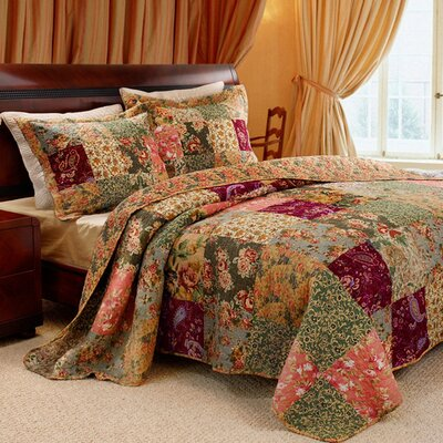 St. John Reversible Quilt Set Size: Twin