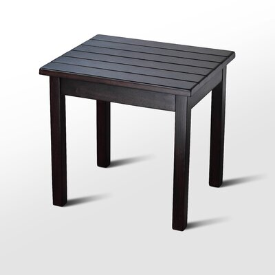 Franklin Springs Porch End Table Color: Mahogany