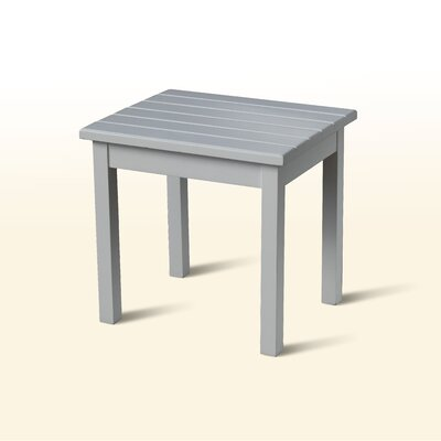 Franklin Springs Porch End Table Finish: White