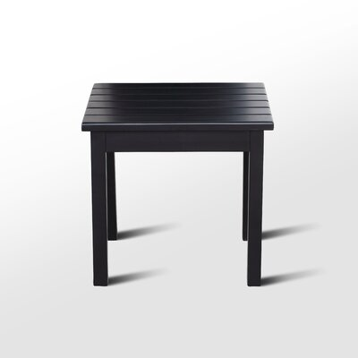 Franklin Springs Porch End Table Color: Black
