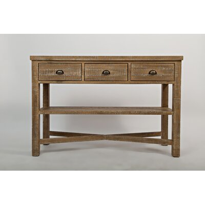 Cheyenne Console Table Color: Bisque