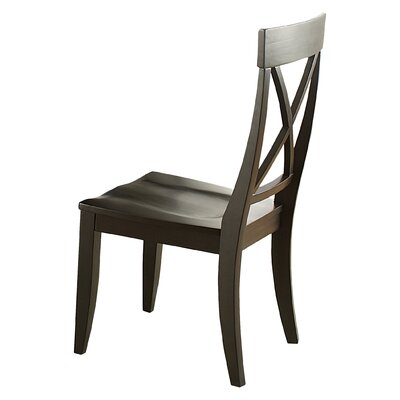 Gardner Side Chair (Set of 2) Finish: Charcoal