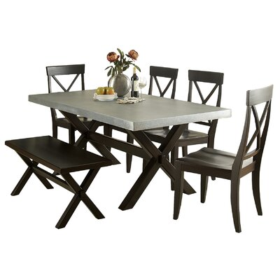 Gardner Dining Table Color: Black