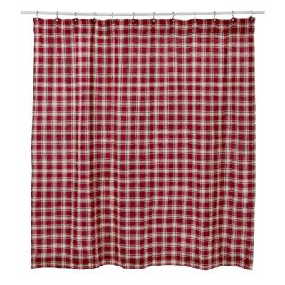 Collins Cotton Plaid Unlined Shower Curtain