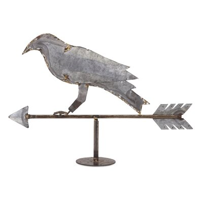 Crow Weather Vane Figurine