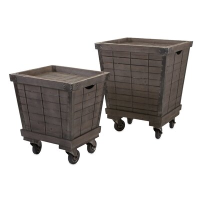 2 Piece End Tables Set