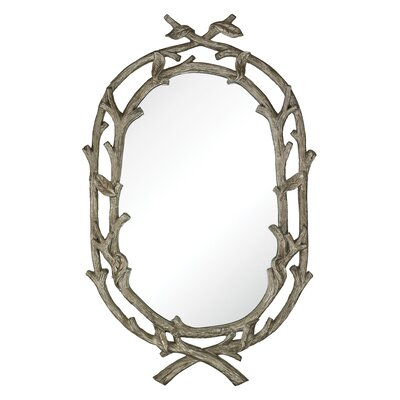 Kindred Leaf Wrapped Branch Mirror