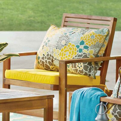 Delta Outdoor Lumbar Pillow Size: 16.5 x 24.5