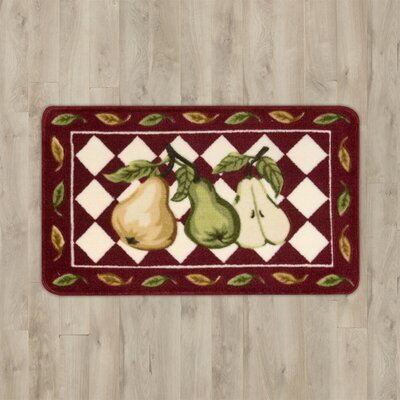 Lyn Red Pear Area Rug