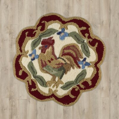 Stella Red Rooster Area Rug