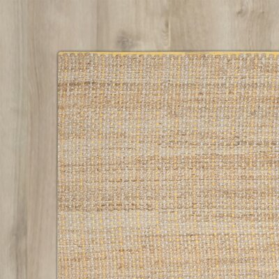 Zap Hand-Woven Beige Area Rug Rug Size: Rectangle 4 x 6