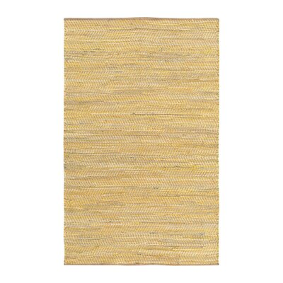 Sunflower Yellow Area Rug Rug Size: 2 x 3