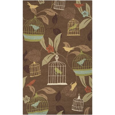 Millstone Cocoa/Taupe Indoor/Outdoor Area Rug Rug Size: Rectangle 2 x 3