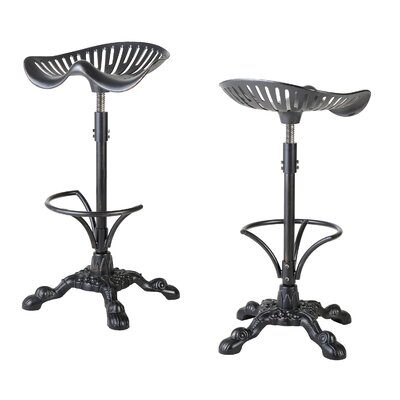 Dordogne Adjustable Height Swivel Bar Stool