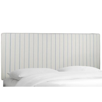 Almira Upholstered Panel Headboard Size: King