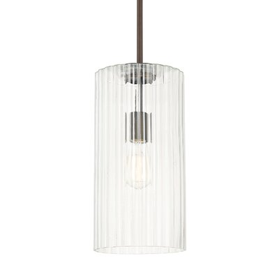 Mara 1-Light Pendant Finish: Burnished Bronze