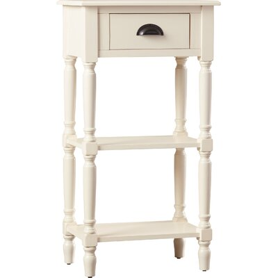 Jenney End Table Color: White