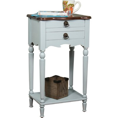 Lewisville End Table Finish: Gray / Light Brown