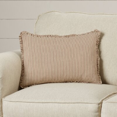 Zona Stripe Cotton Lumbar Pillow
