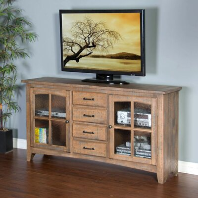 Corine 64 TV Stand Color: Driftwood