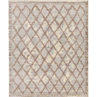 Karlee Gray Area Rug Rug Size: 8 x 10