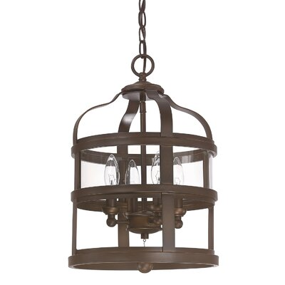 Lily 4-Light Foyer Pendant